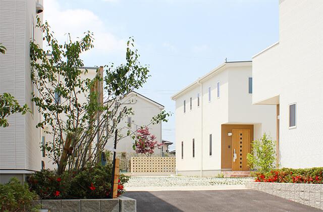 朝日I&Rリアルティのランドスケープ分譲住宅「OURS GARDEN 姫方」画像⑧