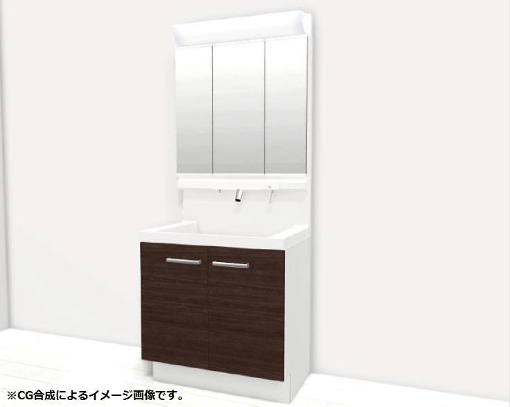 小城市新築建売住宅OURS三日月1号地・洗面(仕様)