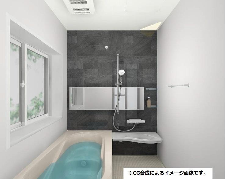 小城市新築建売住宅OURS三日月1号地・浴室(仕様)
