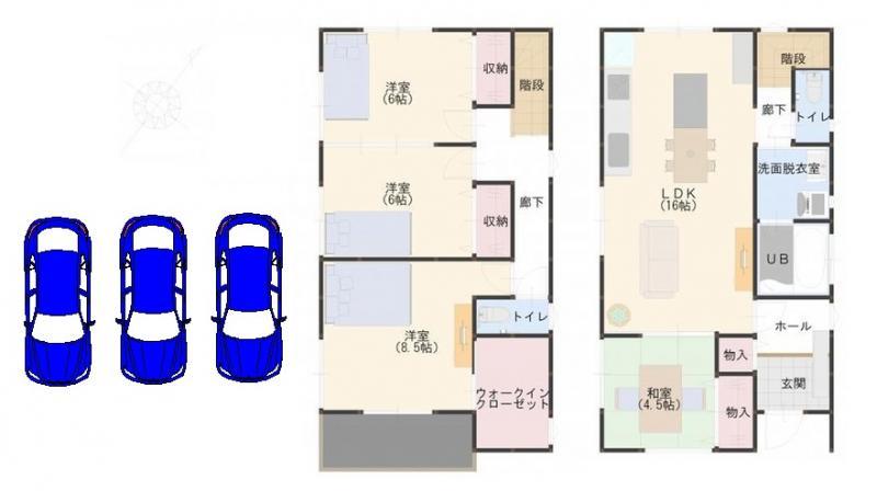 新築建売住宅 OURS GARDEN 筑前中牟田 4号棟