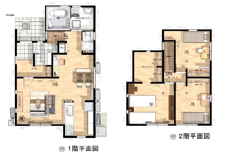 小城市三日月町新築建売住宅【OURS三日月2号地】
