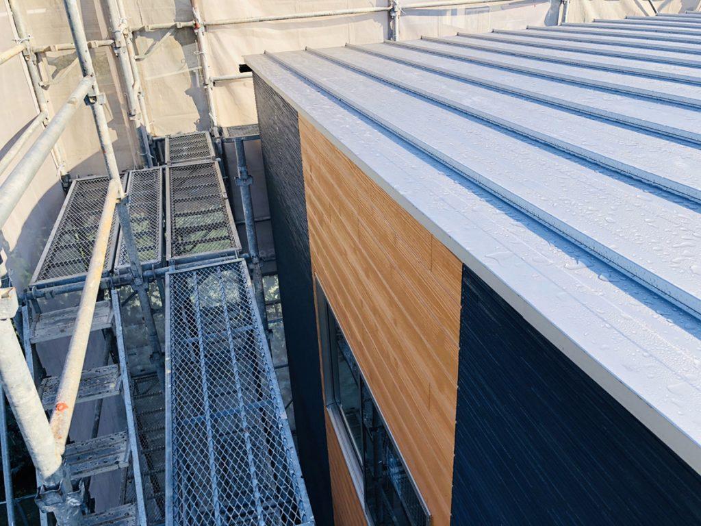 大村市新築戸建建売住宅「OURS大川田1号地」屋根、外壁 ◆12月23日撮影