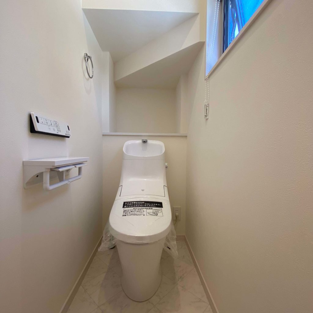 有田町黒川 新築住宅「OURS有田黒川2号地」◆トイレ