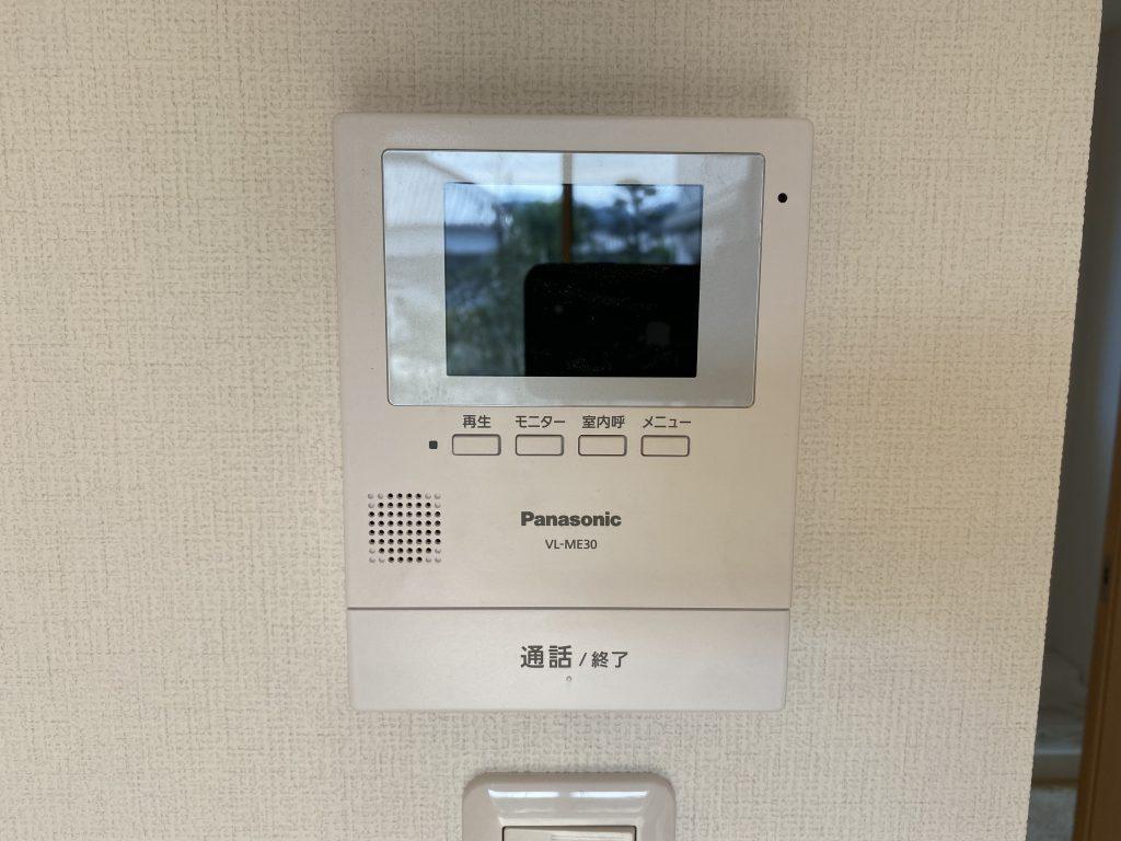 武雄市 新築 建売 OURS甘久Ⅲ TVモニター付きインターフォン