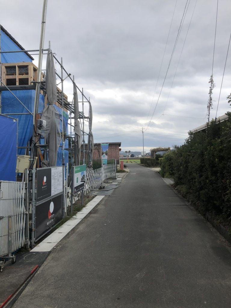 小城市新築建売住宅「OURS三日月1号地」