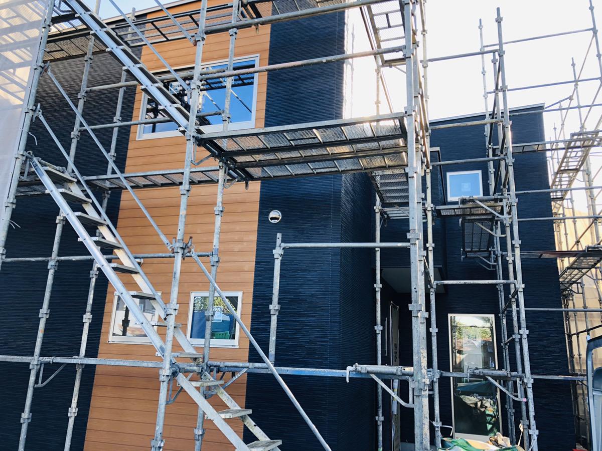 大村市新築戸建建売住宅「OURS大川田1号地」外観 ◆12月23日撮影
