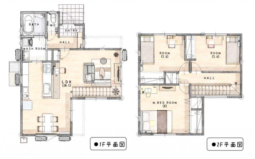 小城市三日月町 新築建売住宅「OURS三日月」