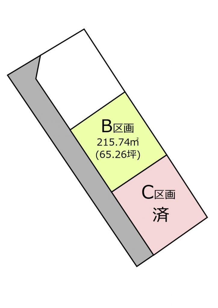 大村市建築条件付き土地 「OURS坂口 B区画」