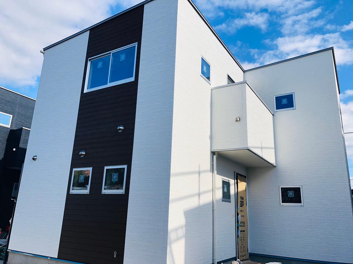 大村市新築建売住宅「OURS大川田2号地」外観