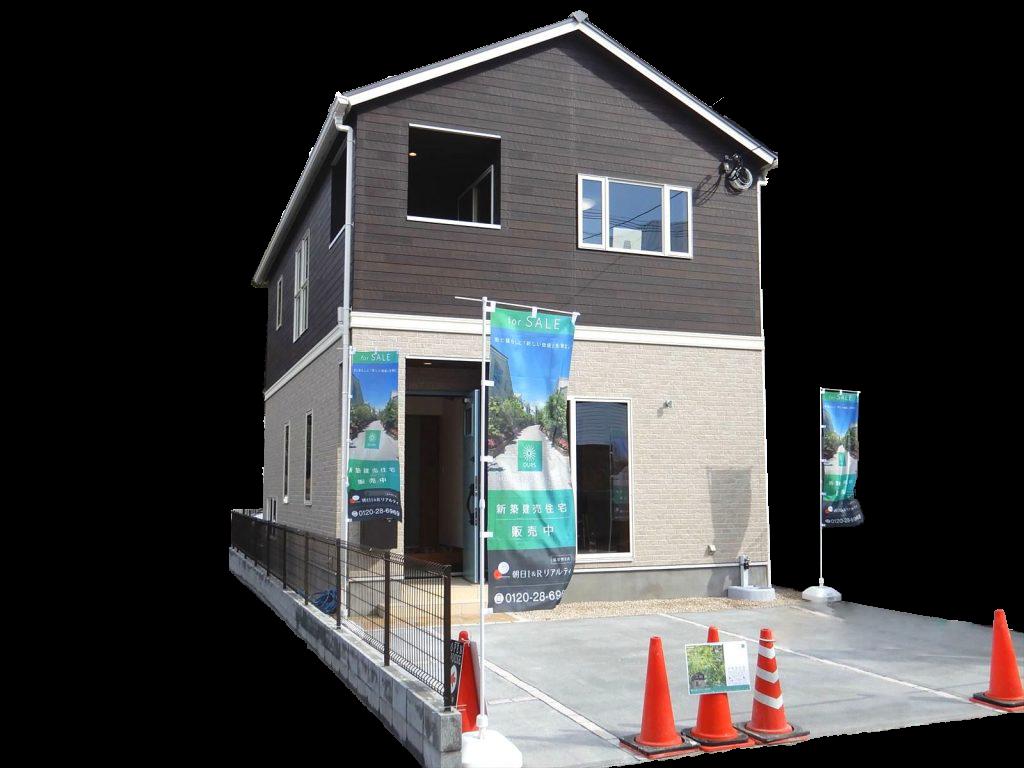 新築建売住宅「OURS 筑紫野原田」外観