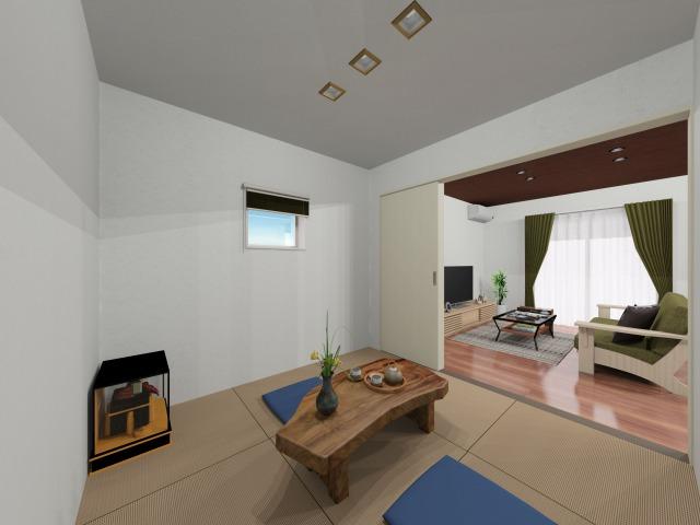 伊万里市 新築戸建建売住宅「OURS脇田」和室パース