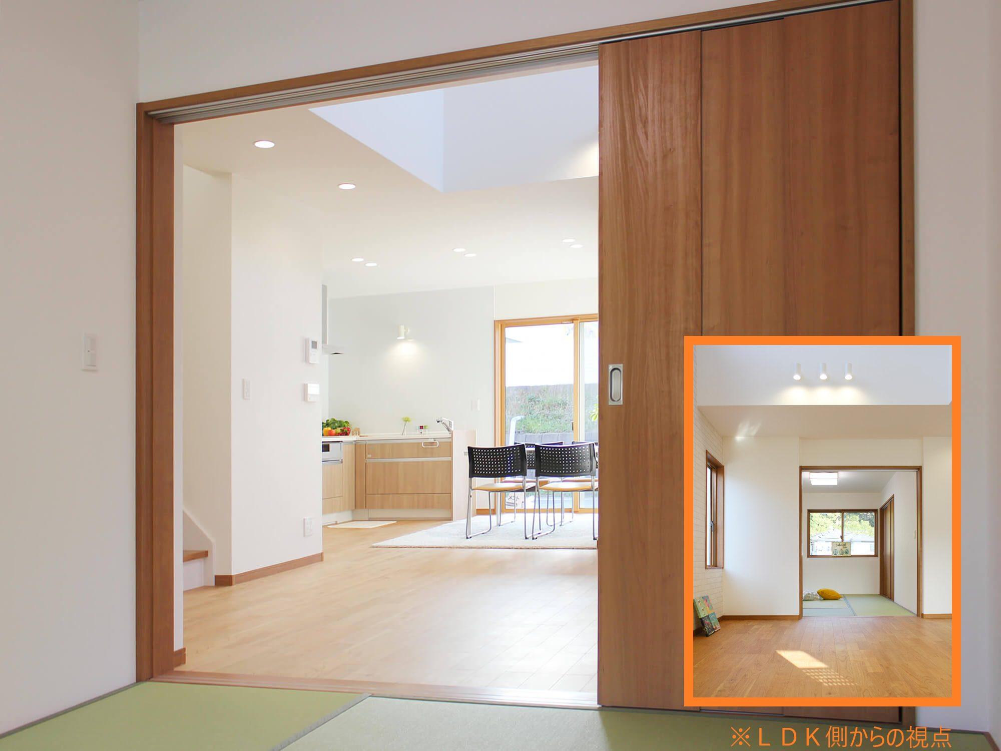 新築建売住宅「OURS 筑紫野原田」和室