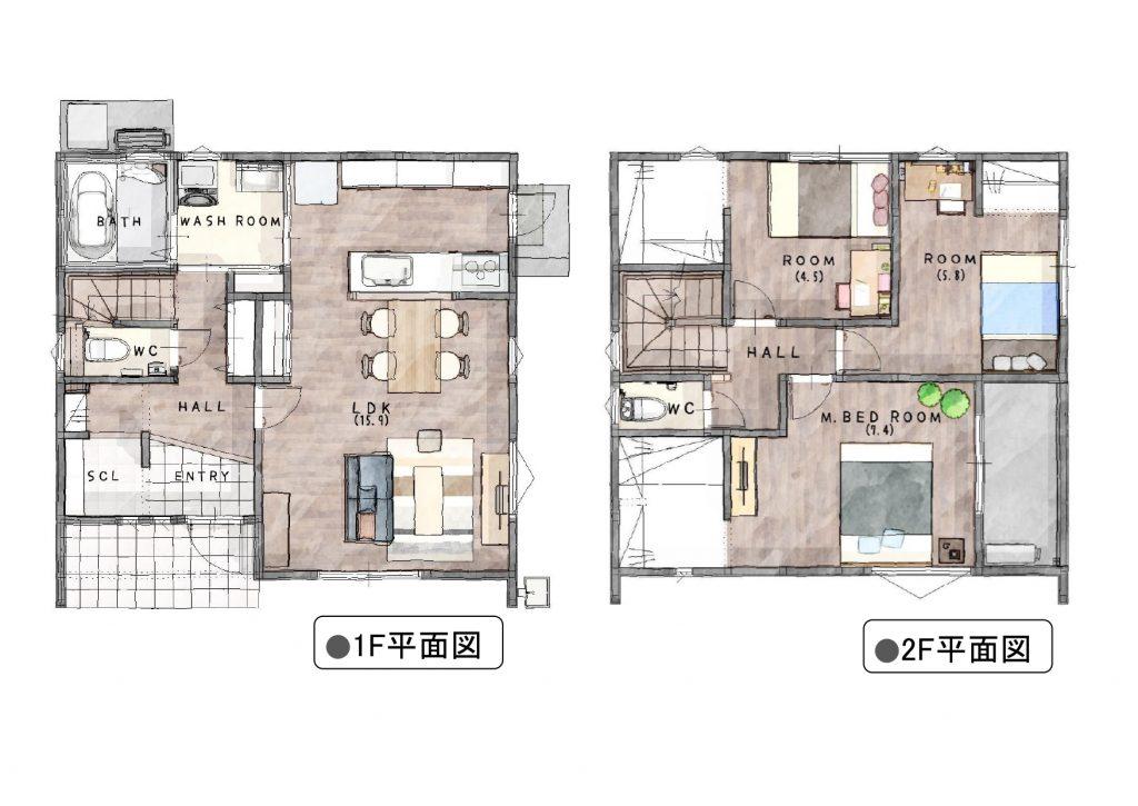 神埼市 新築建売住宅「OURS神崎1号地」