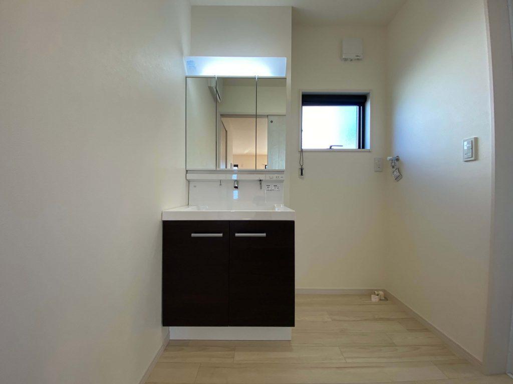 嬉野市下宿 新築戸建建売住宅 「OURS 嬉野1号地」◆洗面化粧台