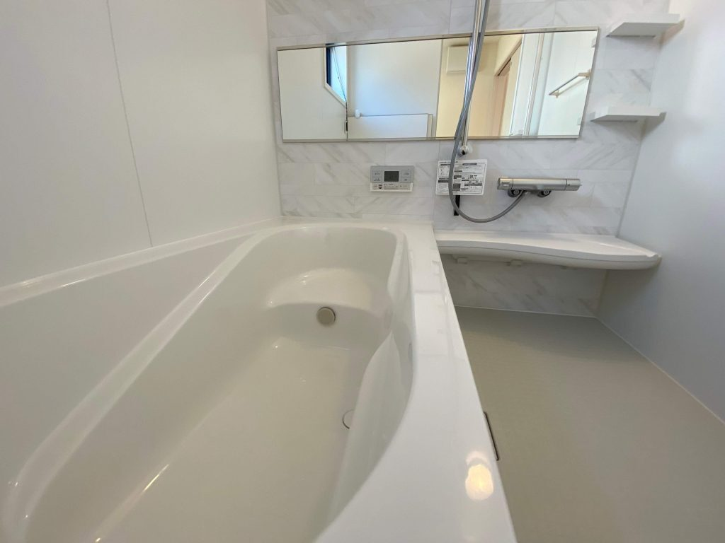 嬉野市嬉野町 新築戸建建売住宅 「OURS 嬉野1号地」◆浴室・バスルーム