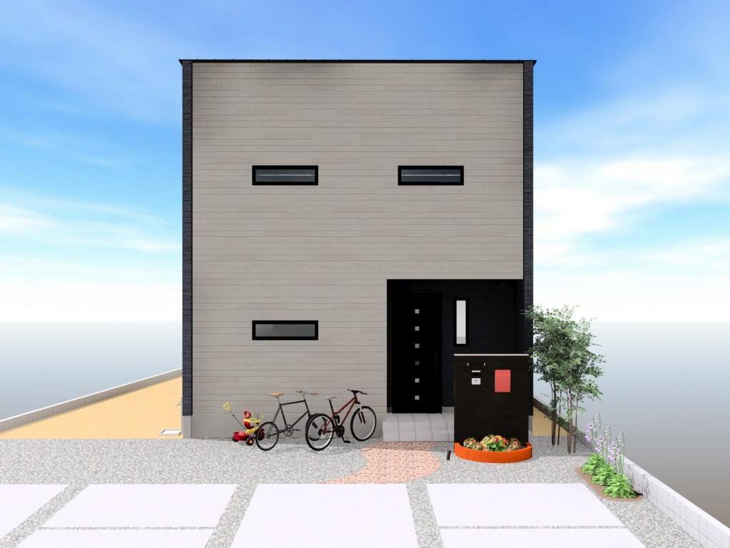 白石町東郷 新築住宅 「OURS白石東郷3号地」◆イメージパース