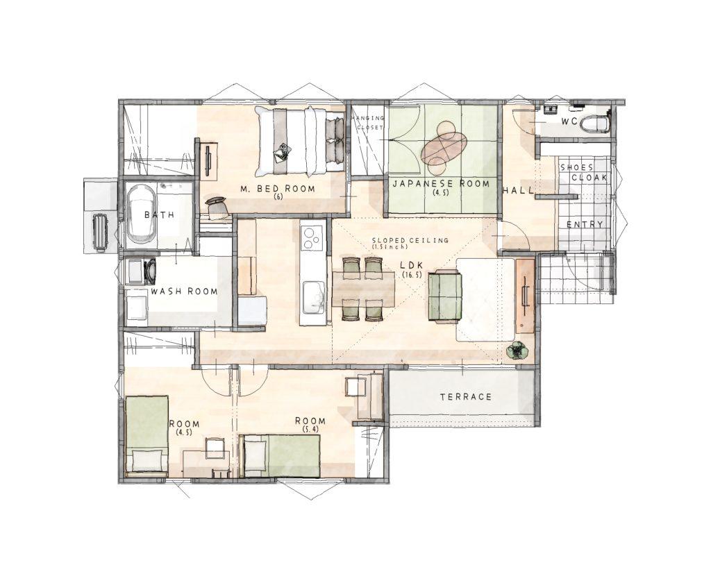 小城市 新築建売住宅「OURS小城町2号地」