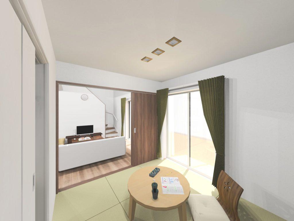 有田町外尾町 新築建売住宅「OURS外尾」和室