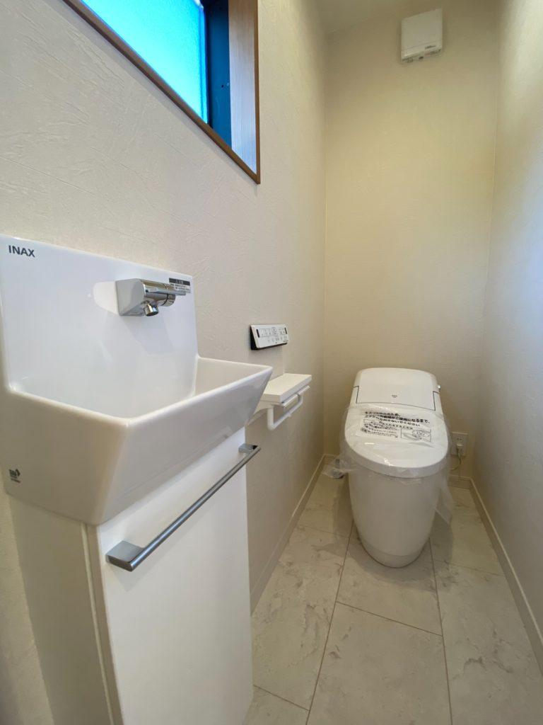 小城市新築建売住宅「OURS小城町2号地」トイレ
