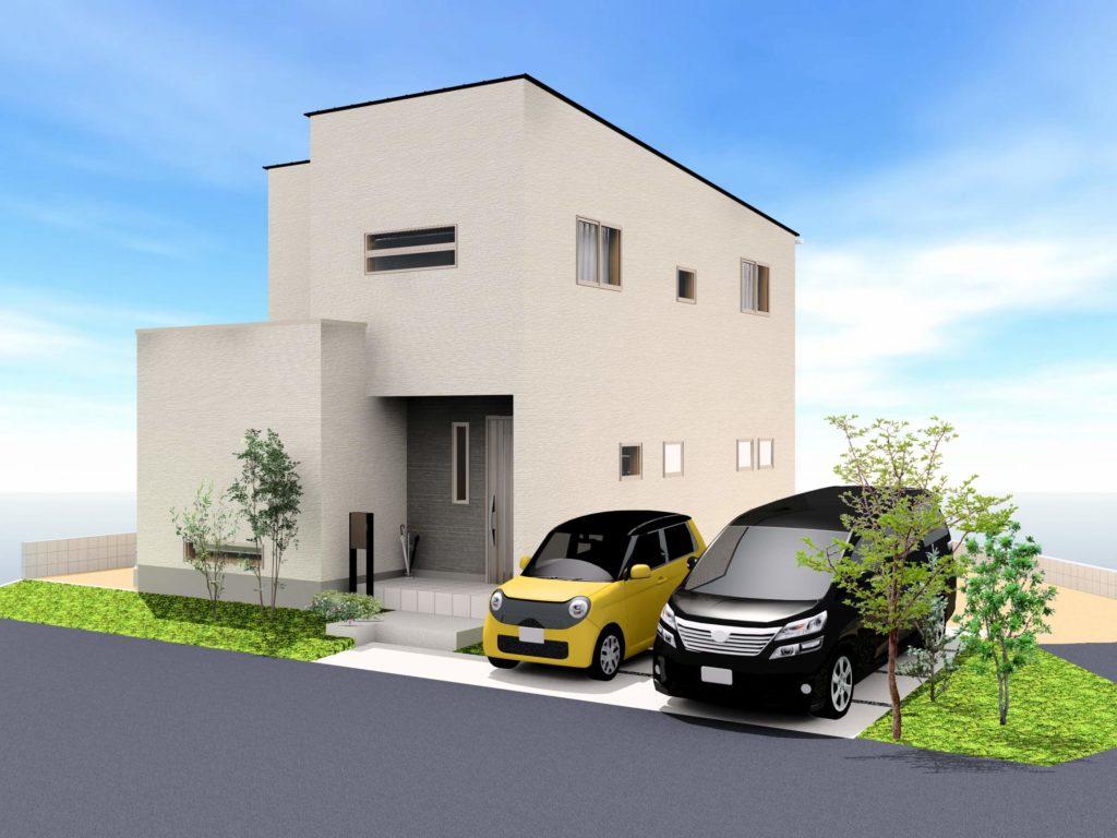 武雄市武雄町 新築建売住宅「OURS永島Ⅱ5号地」◆外観イメージ
