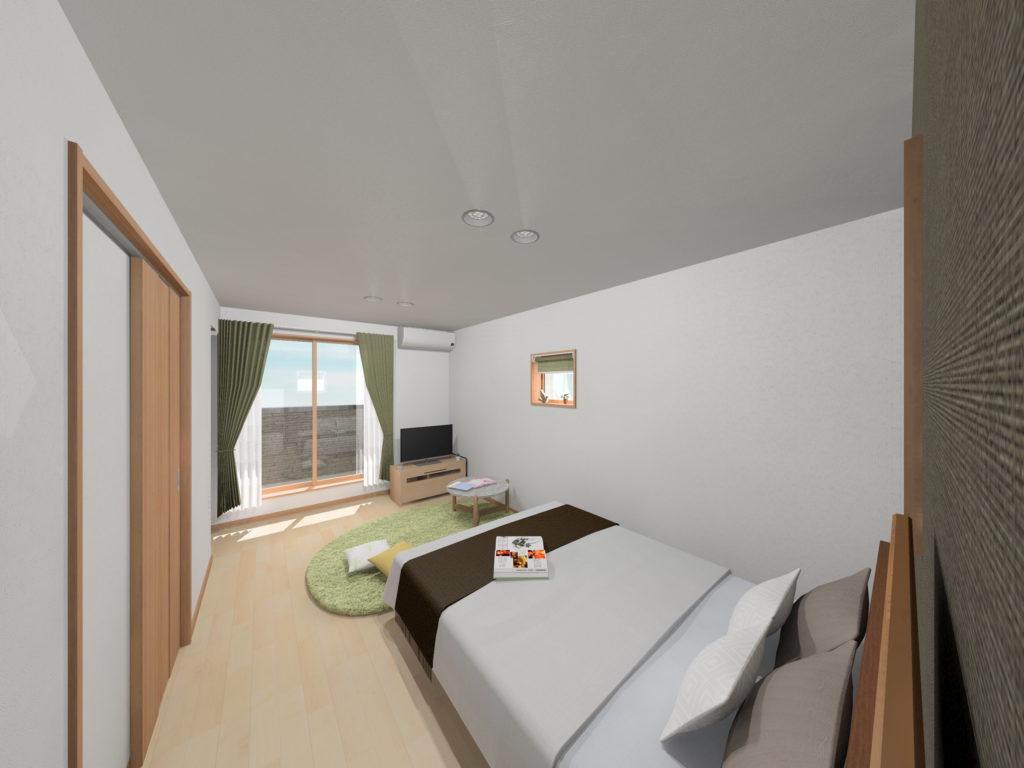 武雄市武雄町新築建売住宅「OURS武雄永島Ⅱ 4号地」◆寝室3