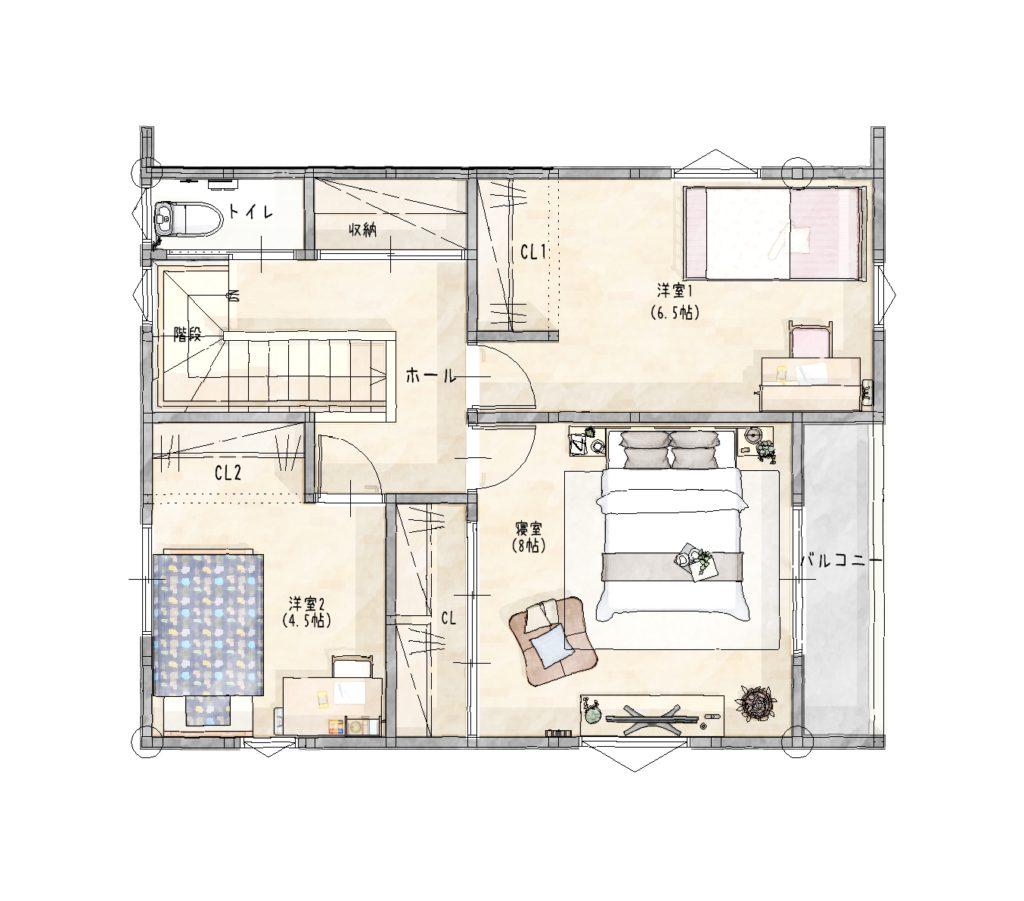 大村市新築建売住宅「OURS黒丸11号地」