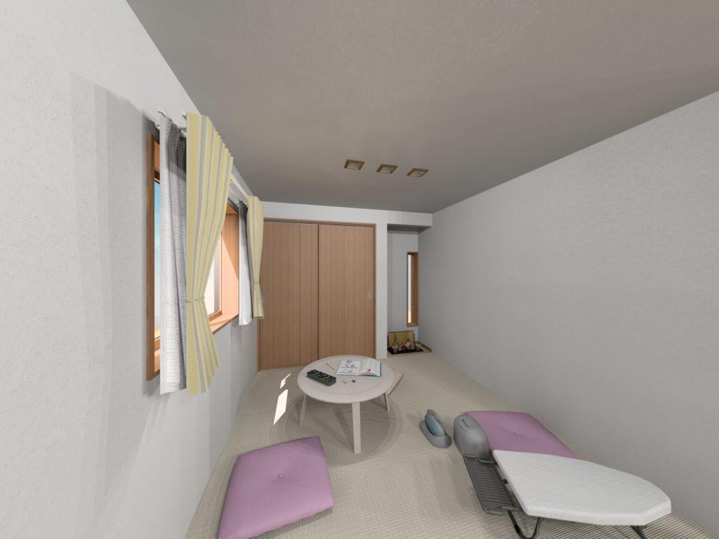 武雄市武雄町新築建売住宅「OURS武雄永島Ⅱ 4号地」◆和室1