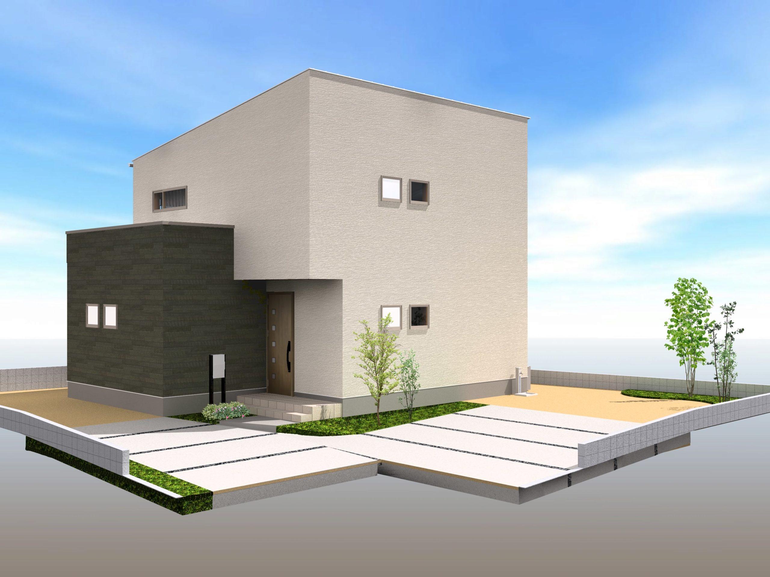 武雄市武雄町新築建売住宅「OURS永島Ⅱ 3号地」◆外観1