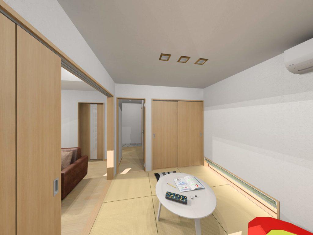 武雄市武雄町 新築建売住宅「OURS永島Ⅱ5号地」◆和室イメージ