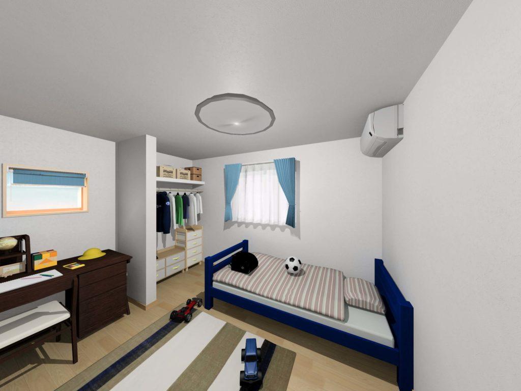 武雄市武雄町 新築建売住宅「OURS永島Ⅱ5号地」◆2F洋室イメージ