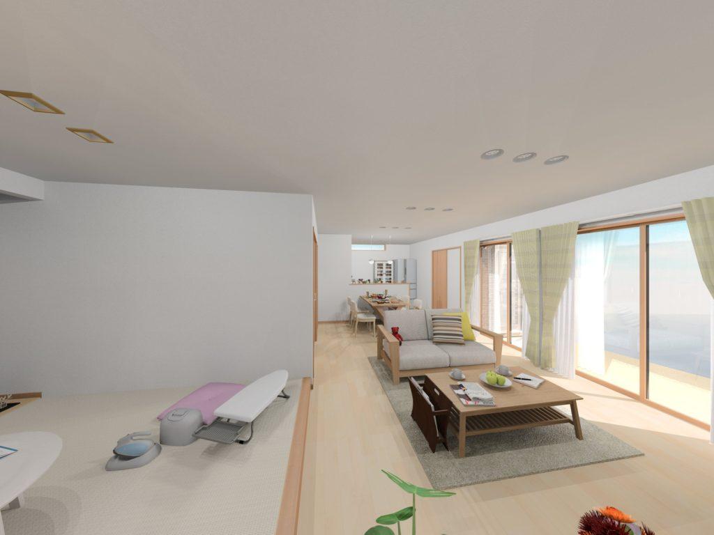 武雄市武雄町新築建売住宅「OURS武雄永島Ⅱ 4号地」◆LDK1