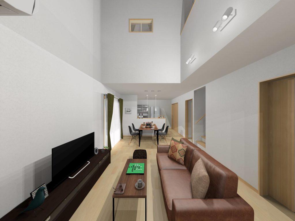 武雄市武雄町 新築建売住宅「OURS永島Ⅱ5号地」◆リビングイメージ