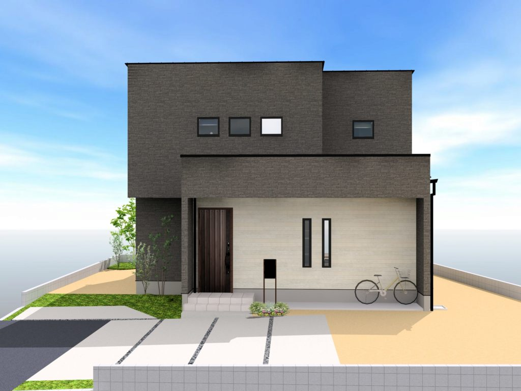 武雄市武雄町新築建売住宅「OURS武雄永島Ⅱ 4号地」◆外観イメージ