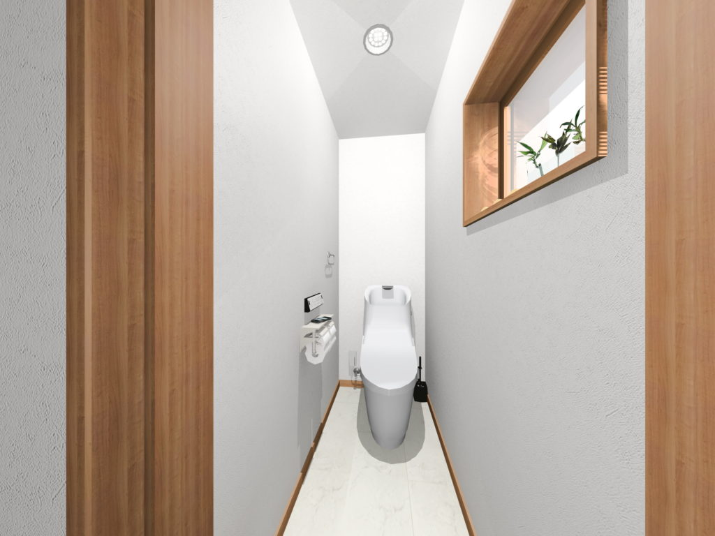 武雄市武雄町新築建売住宅「OURS武雄永島Ⅱ 4号地」◆2Fトイレ