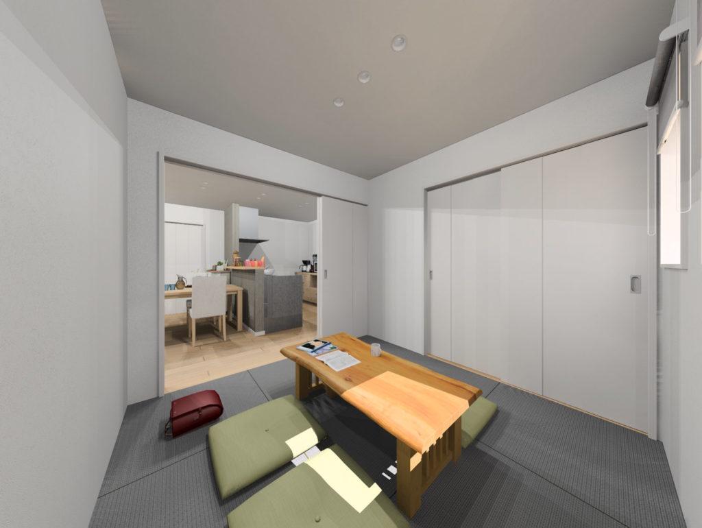 武雄市武雄町新築建売住宅「OURS武雄永島Ⅱ 2号地」◆和室