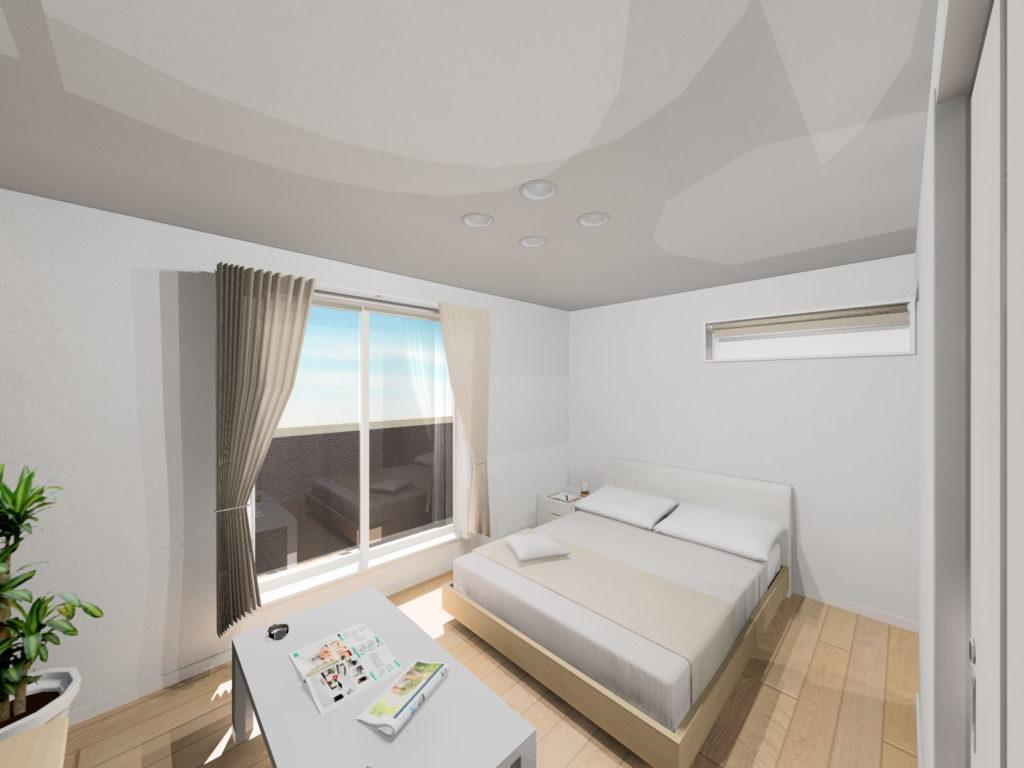 武雄市武雄町新築建売住宅「OURS武雄永島Ⅱ 2号地」◆寝室