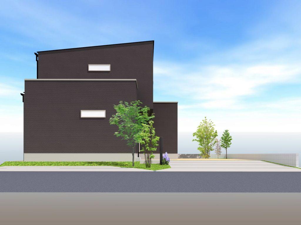 武雄市武雄町新築建売住宅「OURS武雄永島Ⅱ 2号地」◆外観イメージ