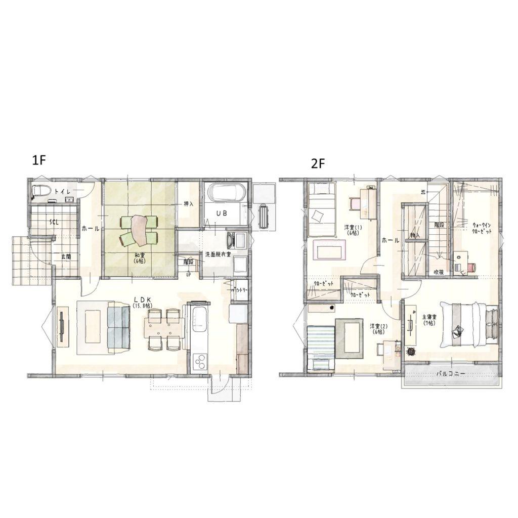 新築建売住宅「OURS立花2号地」