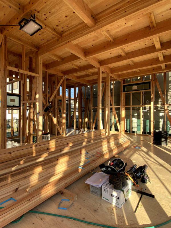 鳥栖市前田町 新築一戸建て住宅「OURS 鳥栖前田」1階リビング