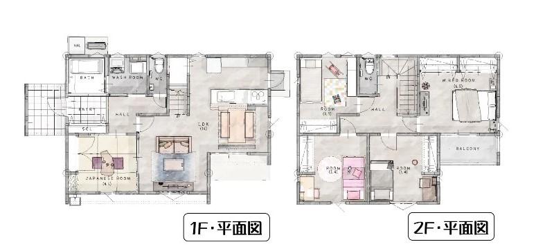 佐賀市新築建売住宅「OURS鍋島町Ⅱ」