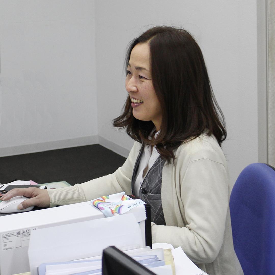 朝日I&Rリアルティ筑紫野支店 営業アシスタント 森重由美子