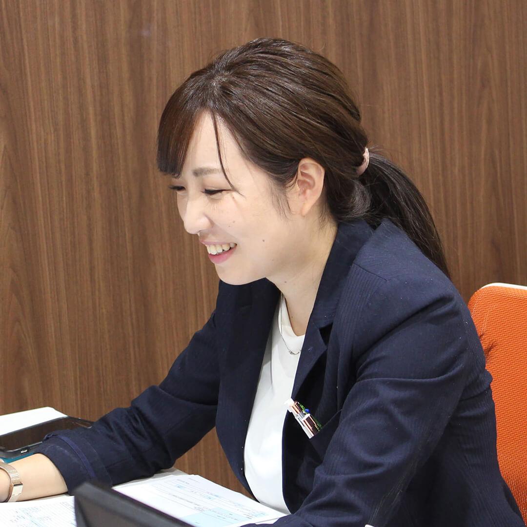 朝日I&Rリアルティ大村支店 営業主任 貝原菜美子