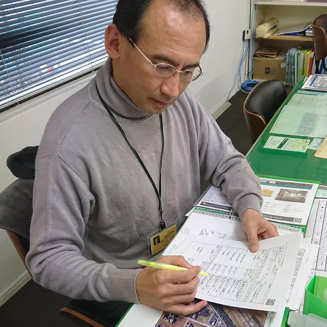 朝日I&Rリアルティ商品開発部 デベロップ課 主任 田代耕一