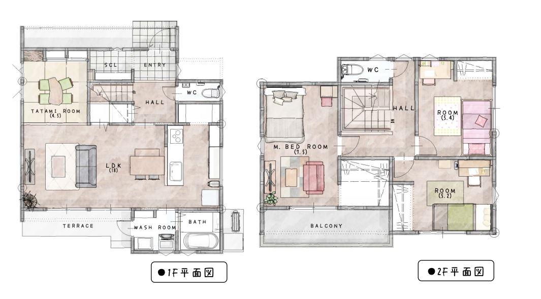 神埼市新築建売住宅「OURS神埼町Ⅱ1号地」