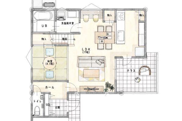 久留米市新築建売一戸建住宅「OURS久留米国分」