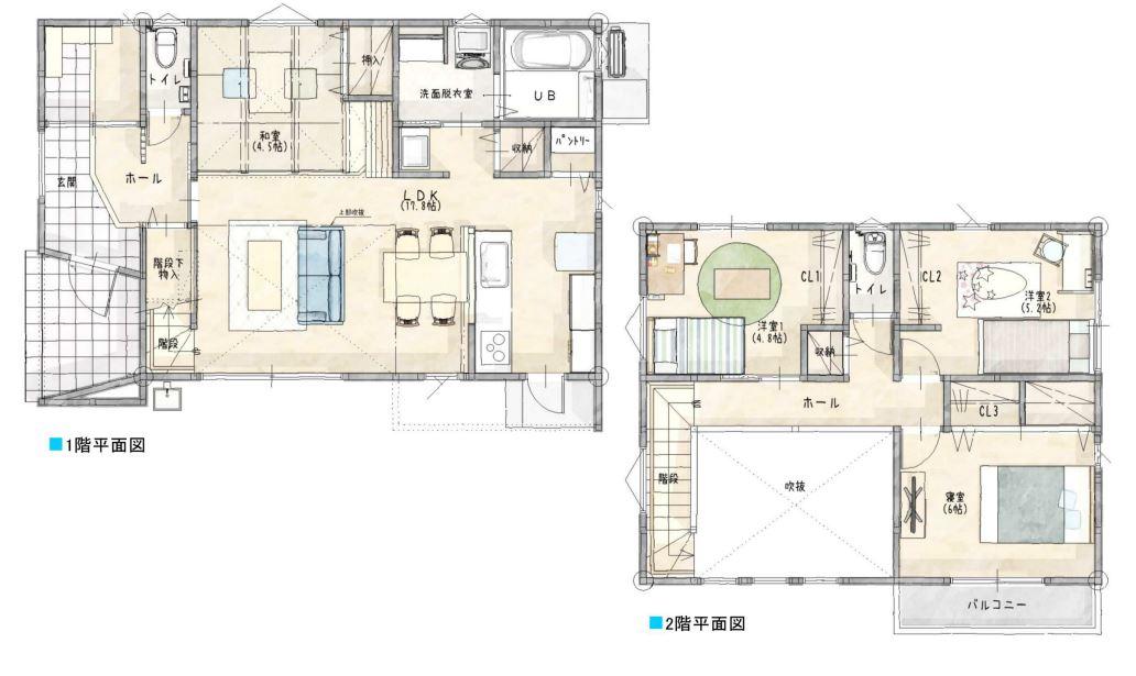 唐津市新築建売住宅「OURS浜玉2号地」