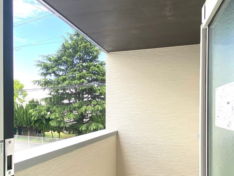 久留米市 新築建売住宅「OURS久留米国分」バルコニー