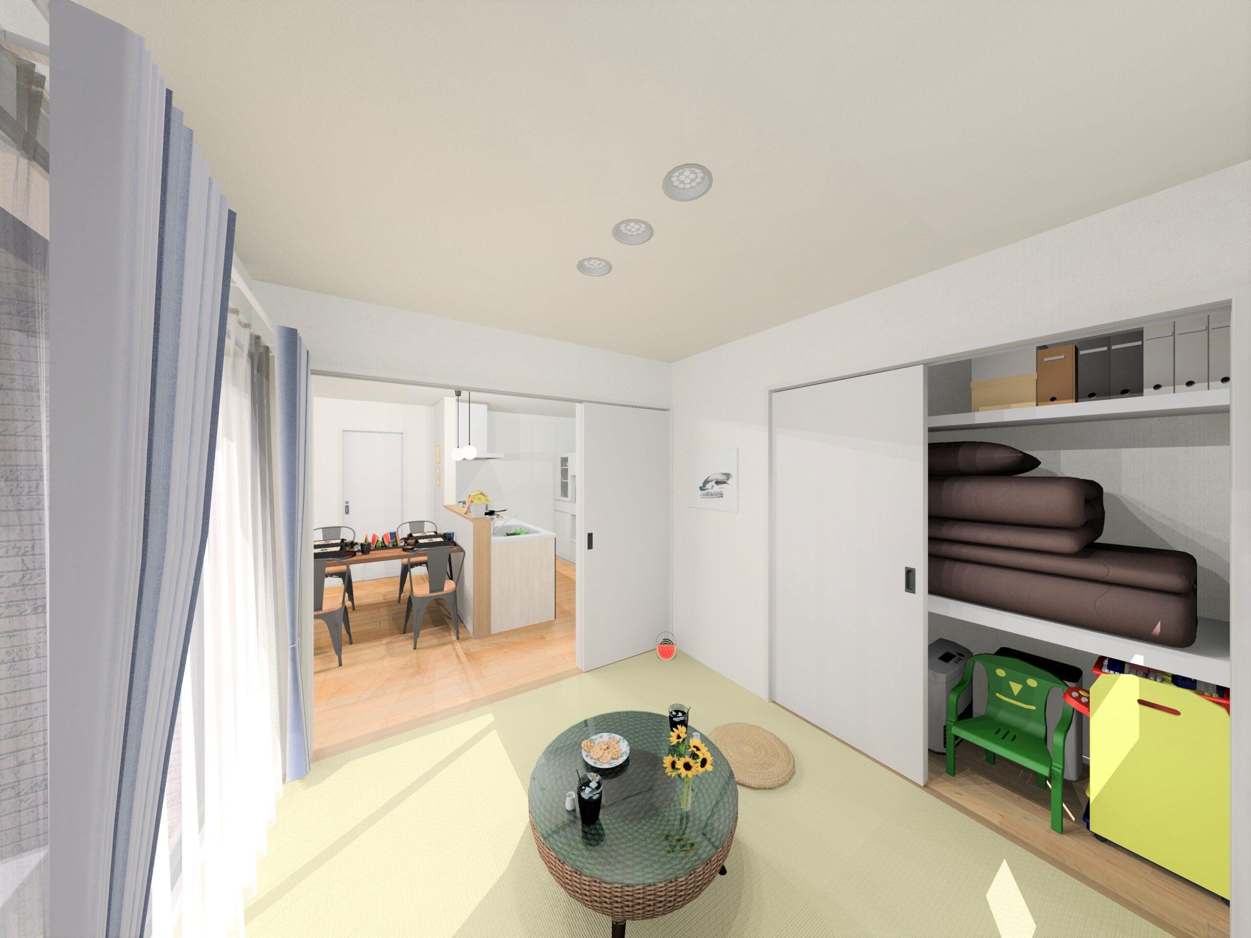 嬉野市新築建売住宅【OURS下宿】5号地和室