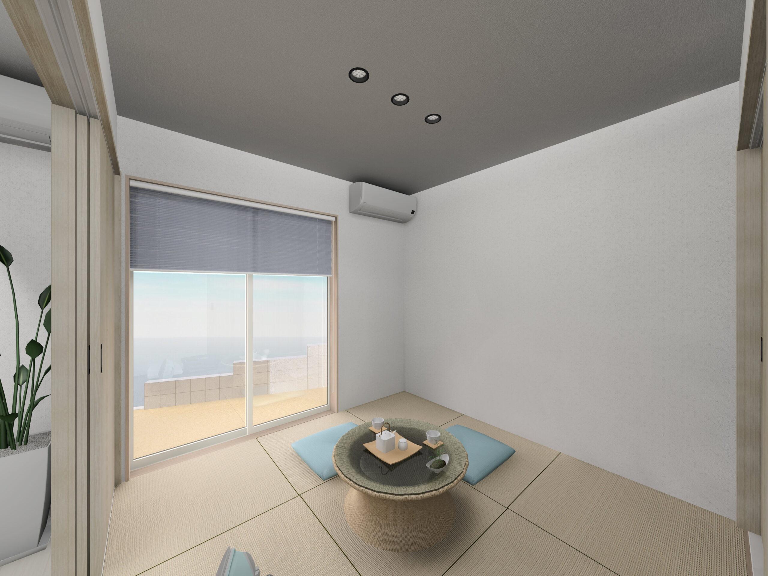 武雄市新築住宅OURS甘久1号地和室①