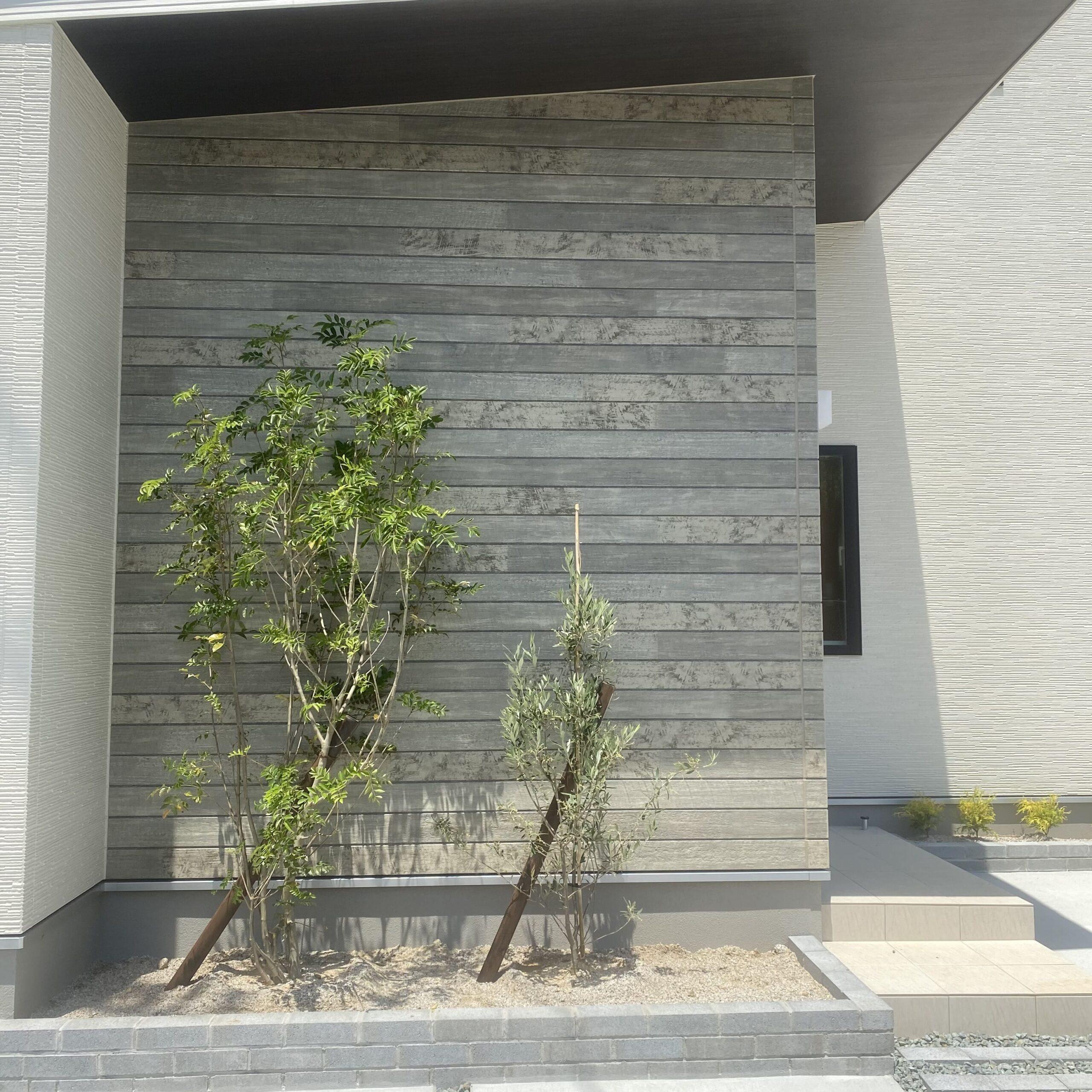 久留米市 新築建売住宅「OURS久留米国分」外観植栽